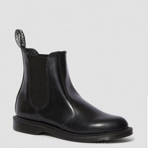 Dr Marten Floral Black Boots Size 9